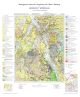 Kombination Karte und Erläuterungen: Geologische Karte der Umgebung der Stadt Salzburg 1:50.000