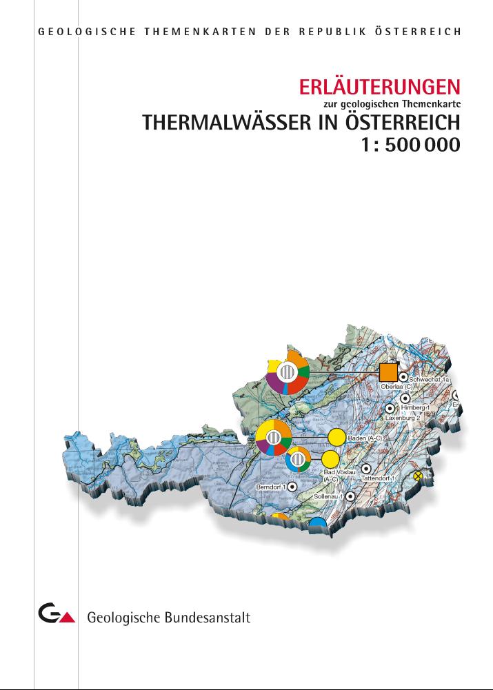Erläuterungen zur geologischen Themenkarte Thermalwässer in Österreich 1 : 500 000
