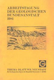 Arbeitstagung 1981 Wiener Neustadt