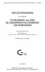 Erläuterungen zu Blatt 79-80-109 Neusiedl-Ung.Altenburg-Pamhagen
