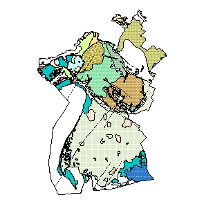 Kartographisches Modell 1:200.000 Neusiedl am See - Geologie (Pol.Bez. 107)