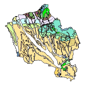 Kartographisches Modell 1:200.000 Oberwart - Geologie (Pol.Bez. 109)