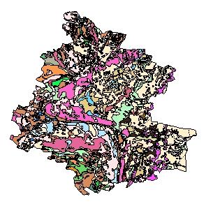 Kartographisches Modell 1:200.000 Horn - Geologie (Pol.Bez. 311)