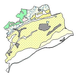 Kartographisches Modell 1:200.000 Wels (Stadt) - Geologie (Pol.Bez. 403)