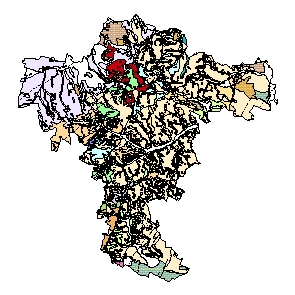 Kartographisches Modell 1:200.000 Mistelbach - Geologie (Pol.Bez. 316)