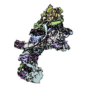 Kartographisches Modell 1:200.000 Gmunden - Geologie (Pol.Bez. 407)